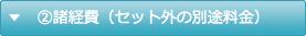諸経費(セット外の別途料金)